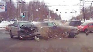 Жесткие аварии вторая неделя Марта 2016