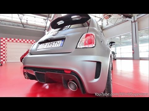 abarth 695 biposto - suono incredibile!
