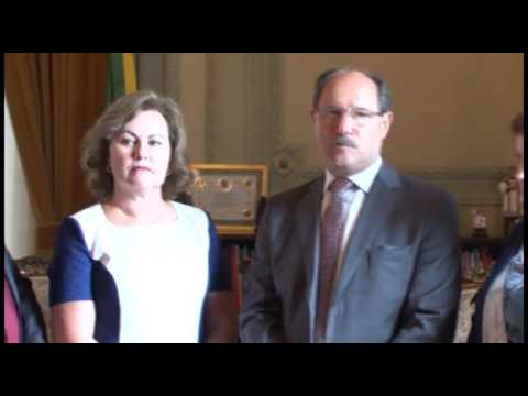 Vídeo Sartori reassume como governador do Estado