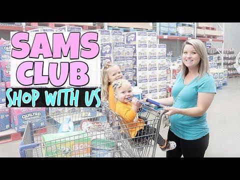 SAMS CLUB SHOP WITH US!
