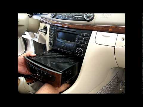 Comment Demonter Autoradio Mercedes  Cdi