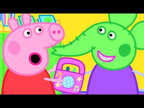 Peppa Pig Official Channel | Peppa Pig and Emily Elephant's Favourite Space Alien Music