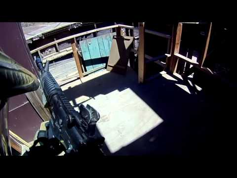 GITvUncut - Bob showed up to Operation Blue Cloud with only his KWA KMP9 so Scott from KWA let Bob borrow his personal KWA LM4 and he did some long range damage with it....