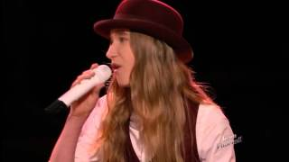 image of The Voice 2015 Sawyer FredericksTop 6 Take Me to the River