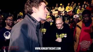 King of the Dot | Arcane & Dose vs. Tricky P & FeelGood