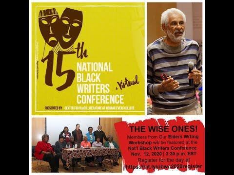 Dr. Edith Rock Elders Writing Workshop at at National Black Writers Conference 2020 #Center4BlackLit
