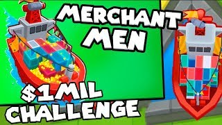 Bloons TD 6 - *NO Bank* $1,000,000 challenge - Tier 5 Monkey Buccaneer