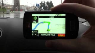 LG Optimus One ile navigasyon
