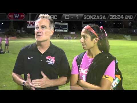 HIGHLIGHTS: Women's Soccer vs. Gonzaga - 10/9/15