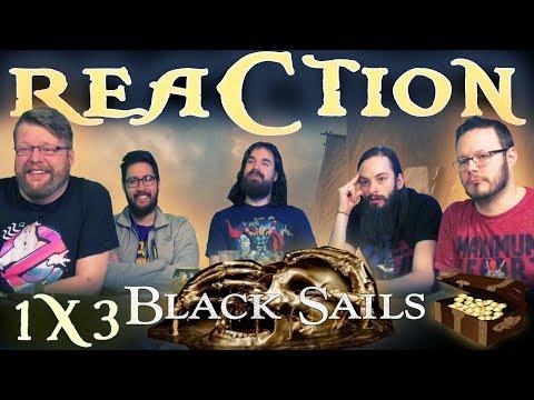 "Black Sails 1x3 REACTION!! ""III."""