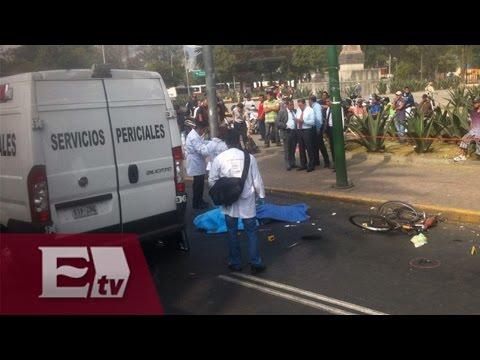 Ciclista muere atropellado por autobús en la GAM