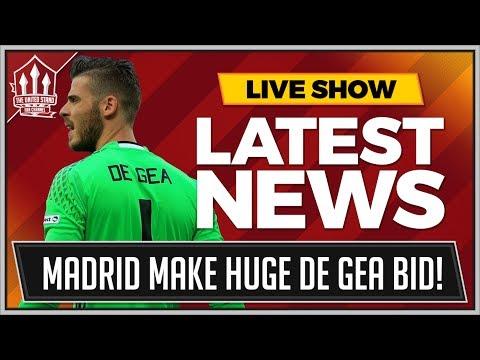 DE GEA In 60 Million REAL MADRID Offer! MAN UNITED TRANSFER NEWS