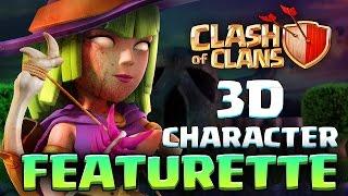 Video NEW CLASH of CLANS - 3D Character Featurette MP3, 3GP, MP4, WEBM, AVI, FLV Agustus 2017