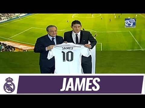 DE - Consulta la ficha de James Rodríguez en la web del Real Madrid: http://bit.ly/1r7xubH Suscribirse al Real Madrid en YouTube: http://bit.ly/NSyxv8 Sigue el Real Madrid en Twitter: http://twitter.c...