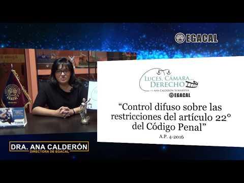 Programa 51 - Control difuso sobre restricciones del art. 22 del Código Penal - Luces Cámara Derecho EGACAL