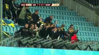 Download Video Höjdpunkter + firande CSKA - AIK 0-2 MP3 3GP MP4