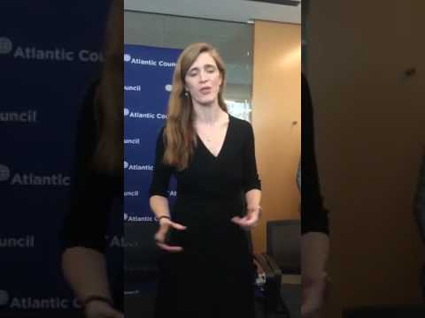 Выступление Саманты Пауэр в ООН (видео)