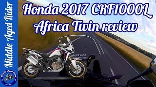 6. First Ride: 2017 Honda CRF1000L Africa Twin DCT