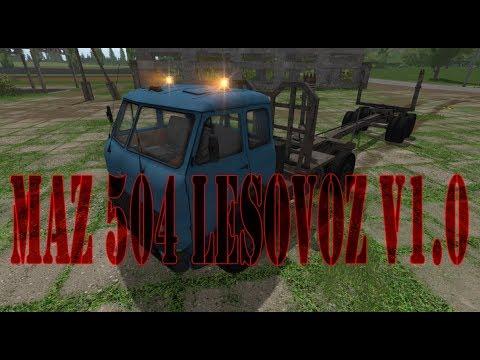 MAZ 504 Lesovoz v1.0