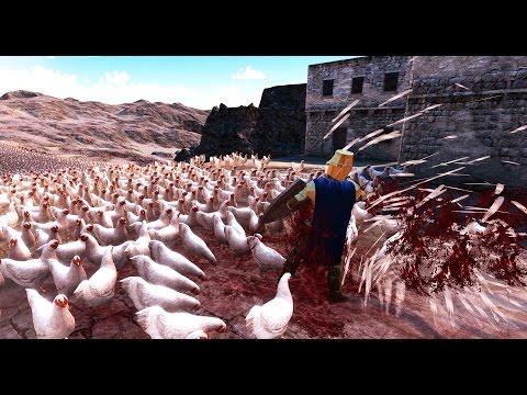 20,000 Chickens VS Golden Knight - Ultimate Epic Battle Simulator