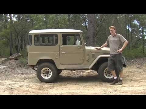 1978 Toyota Landcruiser FJ40 Review