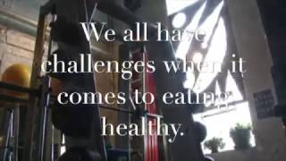 We all have challenges when it comes to eat healthy... Even the gym owner.