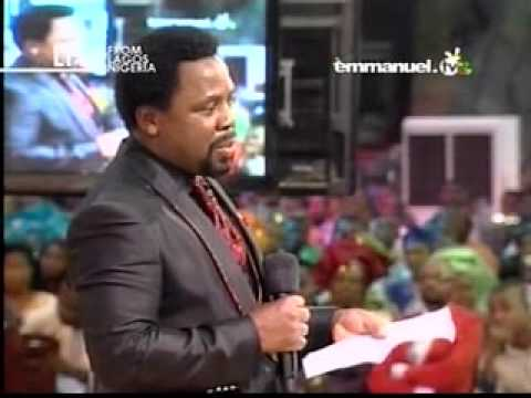 Watch TB Joshua's Prophecy for 2012