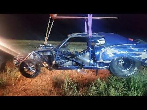 Street Outlaws Crash - Doc Street Beast Accident on the New Season of Street Outlaws OKC