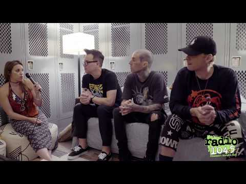 Radio1045 Blink182 Interview 2019!