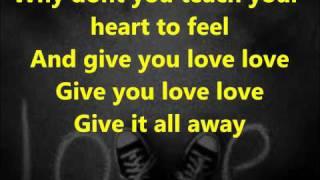 Take That - Love Love lyrics