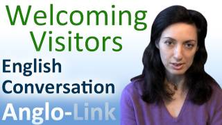 Welcoming Visitors, English Conversation Lesson