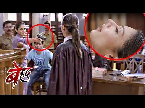 Maya SHOOTS Saanjh In Court | Beyhadh |