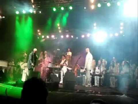 MICHEL JONASZ  & L ORCHESTRE RENE COLL FESTIVAL CHARLES TRENET 2012