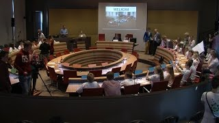 De dag van de Kinderraad in gemeente Leeuwarden