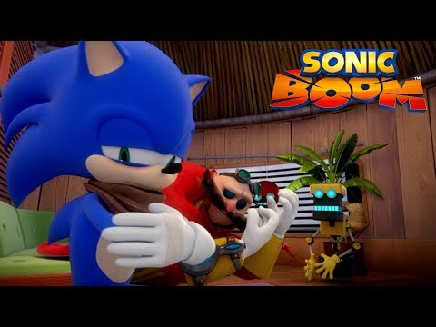 Sonic Boom | Can an Evil Genius Crash on Your Couch for a Few Days? | Episode 2