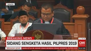 "Video Bacakan Gugatan, Tim Kuasa Hukum BPN Sebut Jokowi-Ma'ruf Melakukan ""Electoral Fraud"" MP3, 3GP, MP4, WEBM, AVI, FLV Juni 2019"