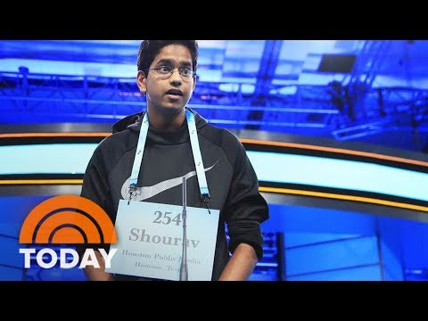 National Spelling Bee Contestant Nails His Word In 5 Seconds Flat | TODAY