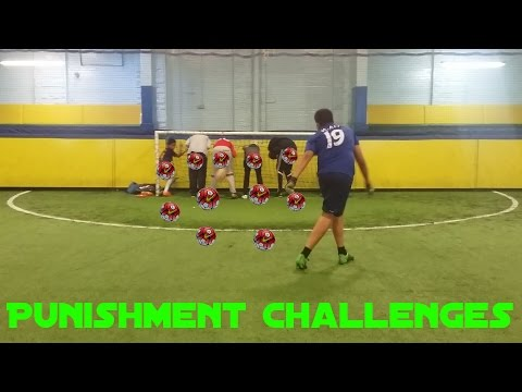 Punishment challenges ● 100 subs special (видео)