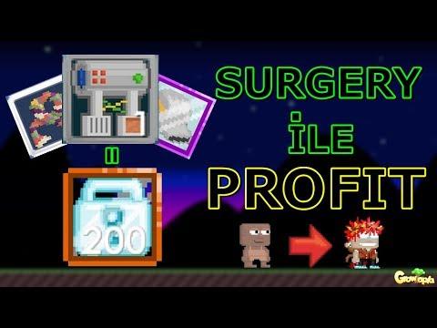 Growtopia | Surgery ile Zengin Olmak | Surgery Nasıl Yapılır?