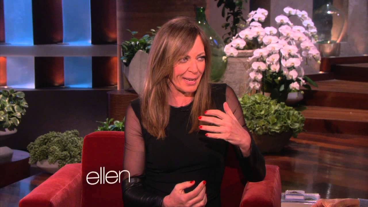 Allison Janney on Finding a Man