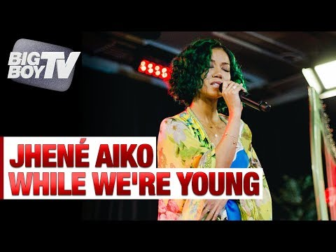 Jhené Aiko Performs 'While We're Young' | Big Boy's Backstage w/ Jhené Aiko