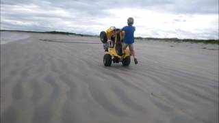 7. can am ds 250 and Polaris 90 wheelies