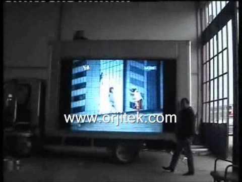 P12.5mm RGB Mobil Led Ekran Uygulaması 6m2