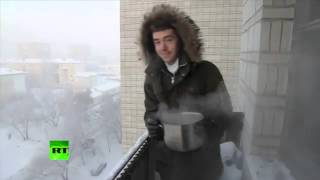 Nonton Crazy Russian Winter  What Happens To Boiling Water At  41c  Film Subtitle Indonesia Streaming Movie Download
