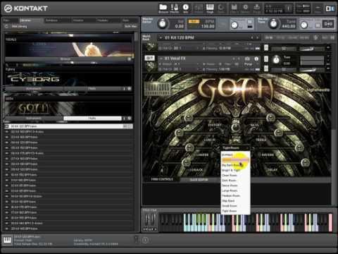 Big Fish Audio   Virtual Instrument Division Goth KONTAKT
