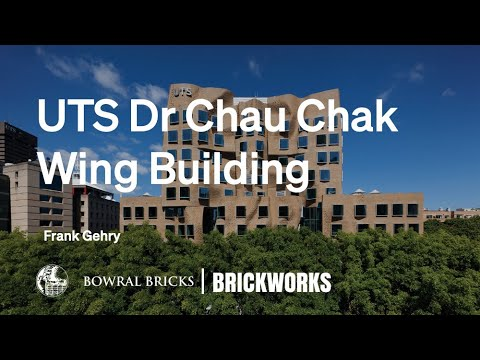Frank Gehry UTS Dr Chau Chak Wing Documentary Australbricks Bowral Bricks