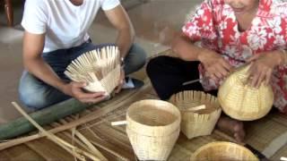 น้ำมือคนไทย ตอน จักสานพนัสนิคม