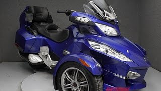7. 2012 CAN AM SPYDER RT-S SE5  - National Powersports Distributors