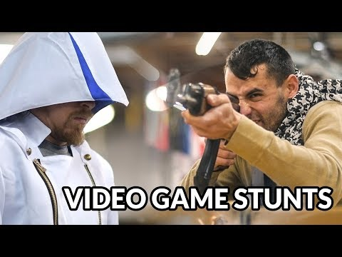 Stuntmen Recreate the Fighting Styles of Popular Video