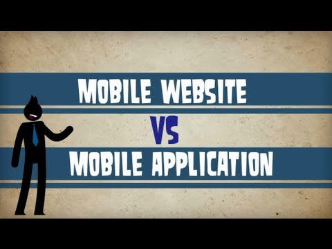 Mobile Websites v Mobile Apps by Top Edge Marketing (видео)
